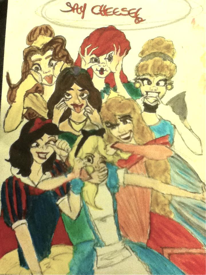 disney princesses funny faces. Disney Princess FUNNY FACES by