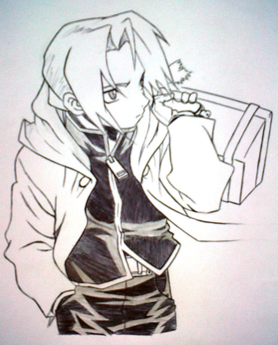 Edward Elric by IkezuCyph