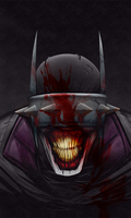 The Batman Who Laughs by TreyBarksArt