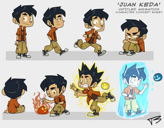 Juan Keda concept sheet by TreyBarksArt