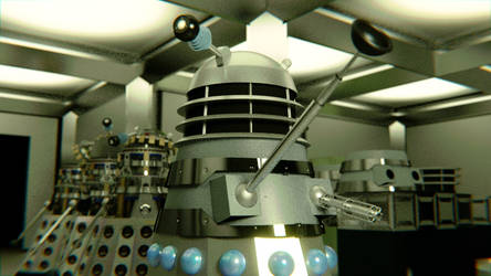 Genesis of the Daleks Revisited by WhosWho23