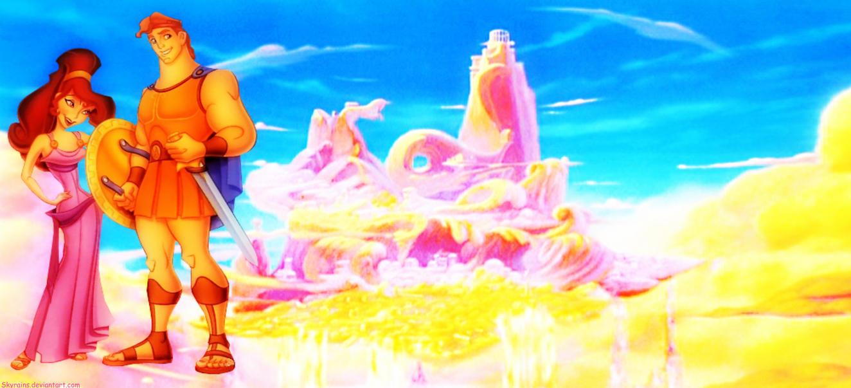 Hercules And Meg Wallpaper By Skyrains