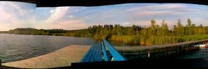 White Lake. Panoramas.
