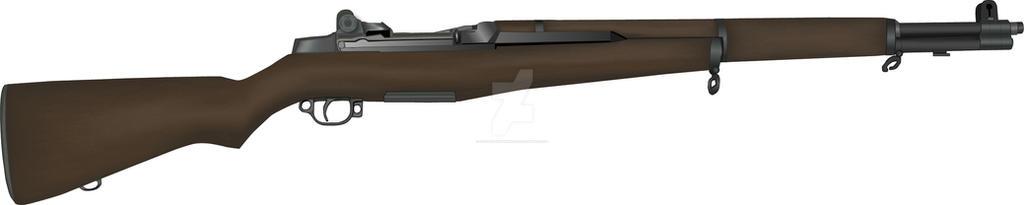 M1 Garand Service Rifle by stopsigndrawer81