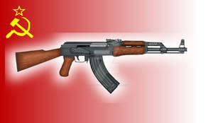 Soviet AK-47- 1955 Model