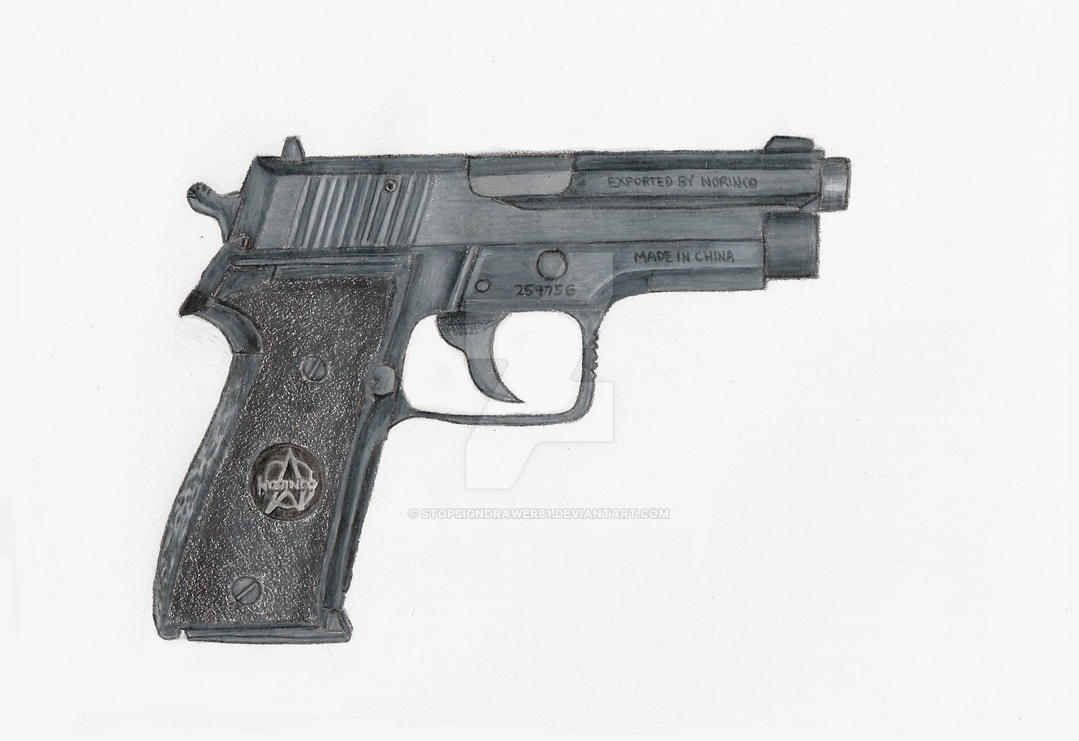 9mm Norinco NP34 Pistol by stopsigndrawer81