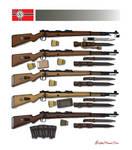 Mauser Karabiner 98k by stopsigndrawer81