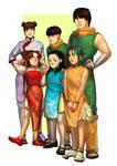 Boruto timeline - The Lee family