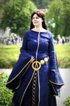 Queen Elinor - Blue Dress