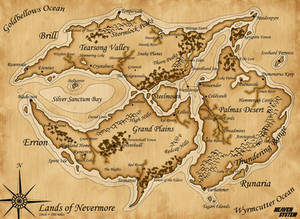 Map of Nevermore