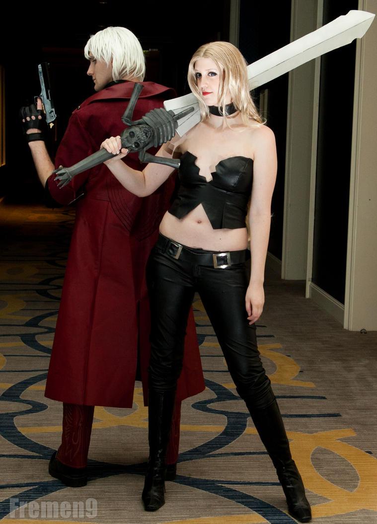 Dante and Trish by SozokuReed