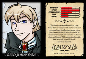 Reed Trading Card