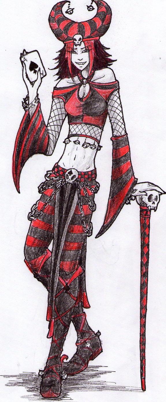Anime Jester Characters : Dark jester by raenyras on deviantart