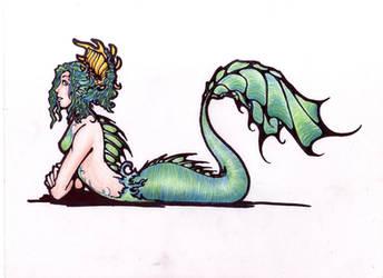Mermaid by Raenyras