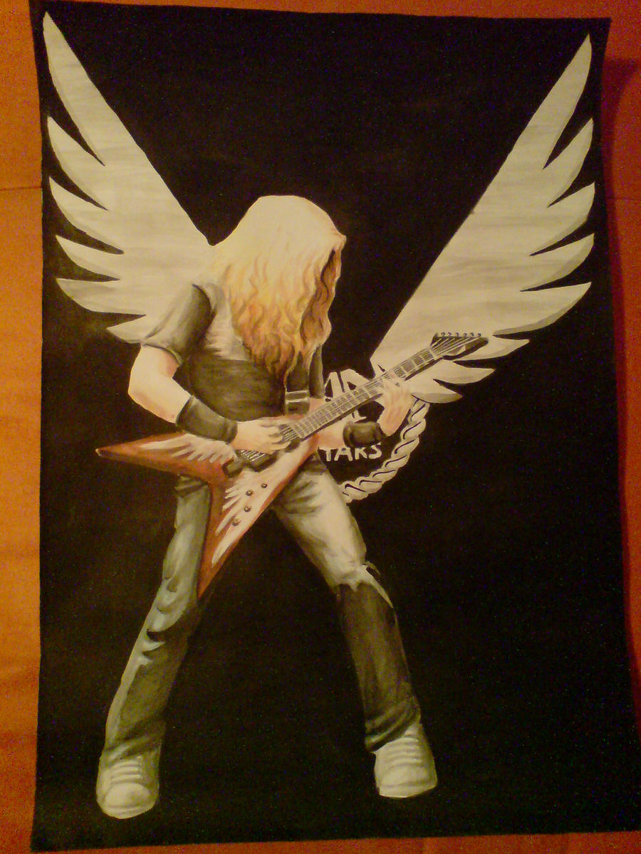 Dave Mustaine+Dean logo by Raenyras