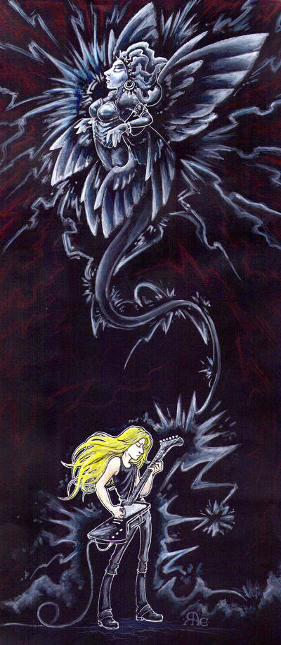 Metal Angel by Raenyras
