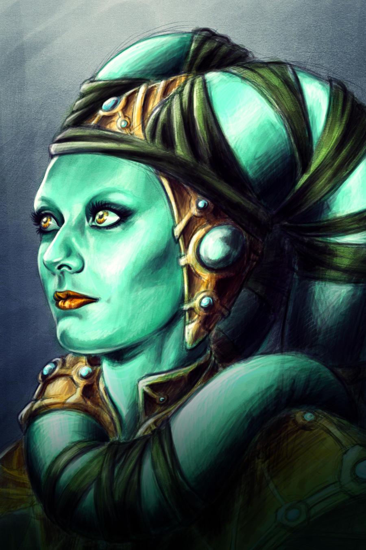 Twilek Portrait by Raenyras