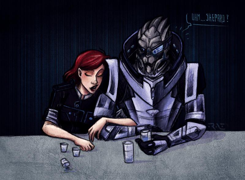 uhm...Shepard? by Raenyras