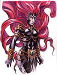 Medusa by Raenyras