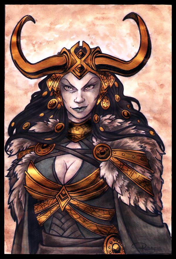 Lady Loki by Raenyras