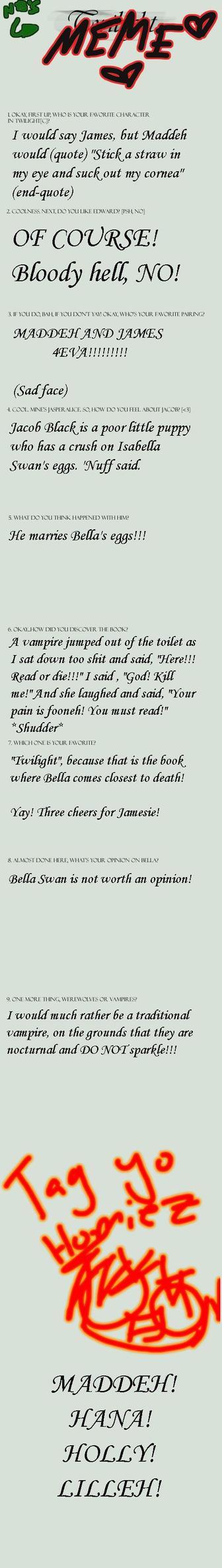 Twilight MEME - Dora Version by Isadora-Greenhall