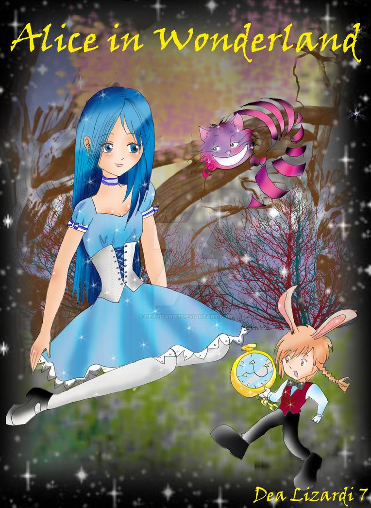 Alice in wonderland by dealizardi7