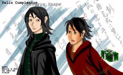 Feliz cumple Severus by dealizardi7