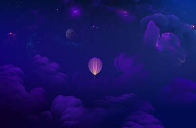 Upper sky