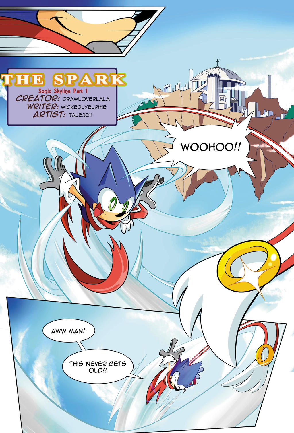 [FANMADE] Sonic Skyline Page 01