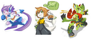 Freedom Planet Sketches
