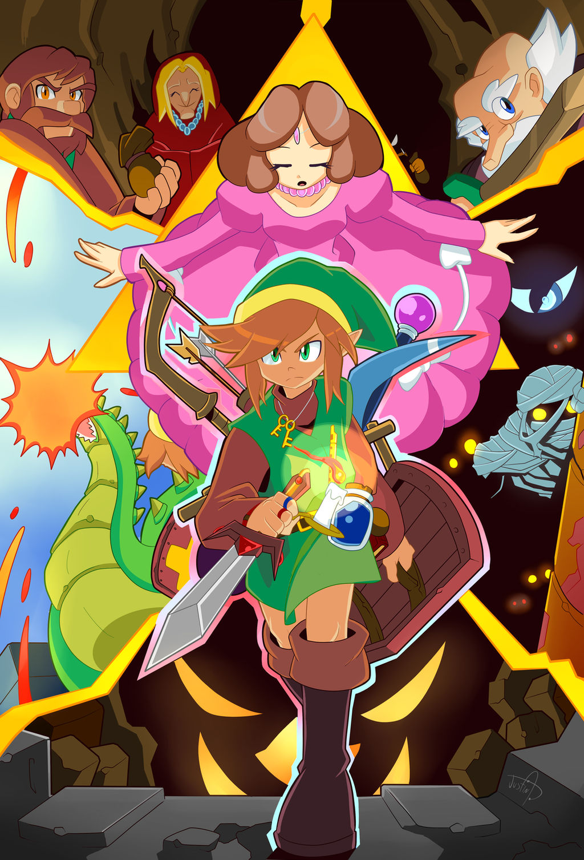 Zelda Fanart 1 The Legend Of Zelda By Tale Dude On Deviantart