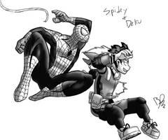 Spidey and Deku by Beeelake1209