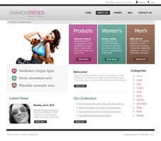 fashion web design template by salmanlp