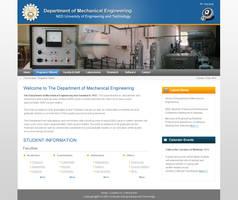 NED Mech eng website design by salmanlp
