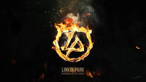 Linkin Park Logo wallpaper HQ by salmanlp