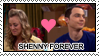 Stamp: Sheldon x Penny V.1 by Mint-Berry-Crunch-69