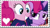 Stamp: Twilight Sparkle x Pinkie Pie by Mint-Berry-Crunch-69