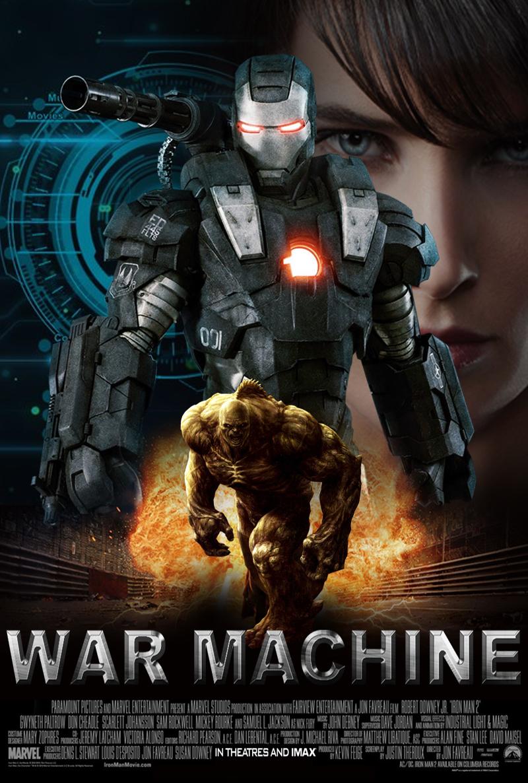War Machine by BlueprintPredator on DeviantArt