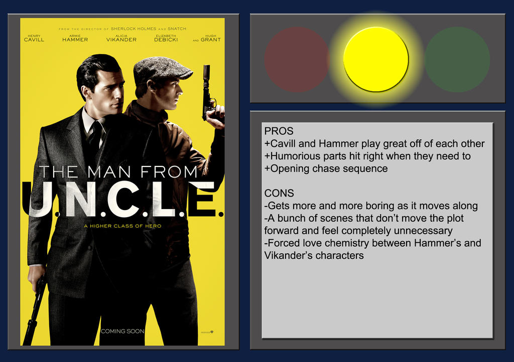 the man from uncle movie review by