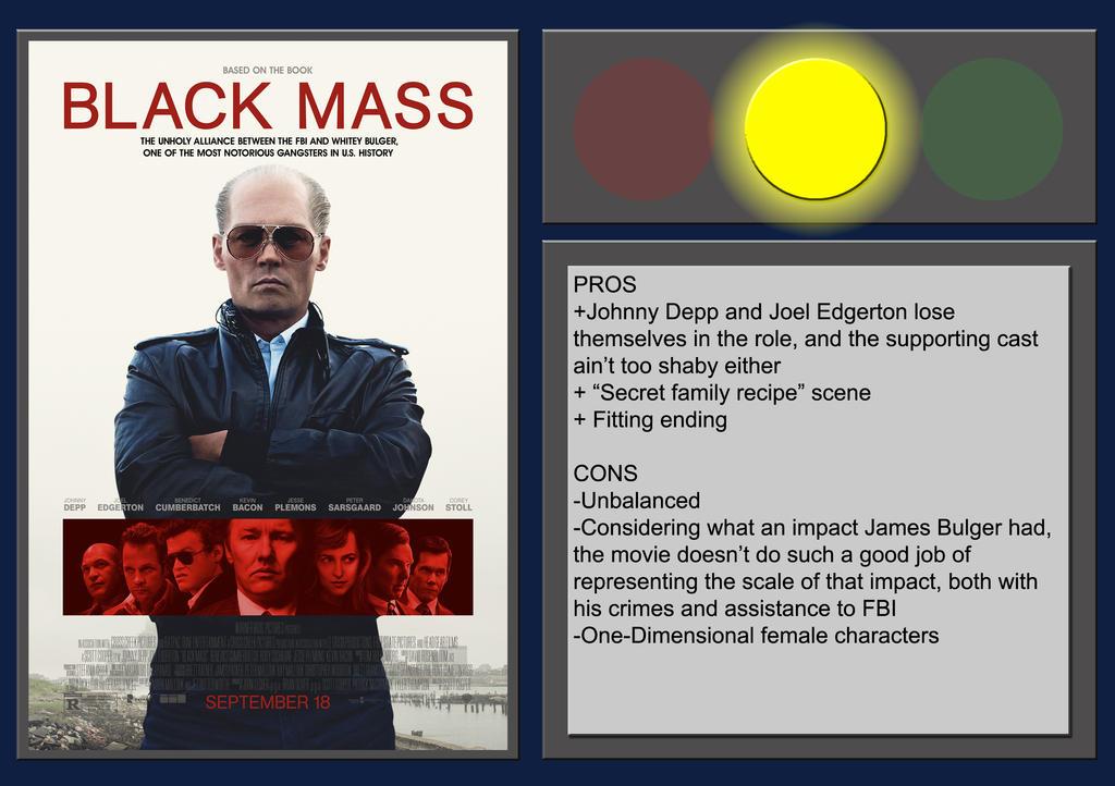 Black Mass - Movie Review by BlueprintPredator on DeviantArt