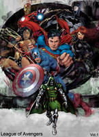 League of Avengers by BlueprintPredator