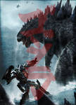 Godzilla vs. Transformers: Powers Apart Them