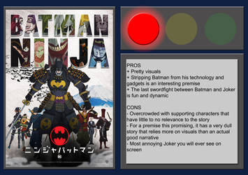 Batman Ninja - Movie Review by BlueprintPredator