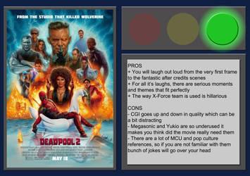 Deadpool 2 - Movie Review by BlueprintPredator