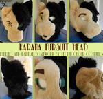 Karana Incomplete Fursuit Head