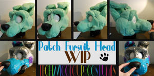 (WIP) Patch Fursuit Head