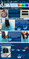 FURSUIT TUTORIAL: Sewing Elastic Onto Your Tail