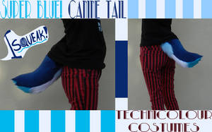 Blue Squeaker Tail SOLD by TECHNlCOLOUR