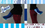 Blue Squeaker Tail SOLD