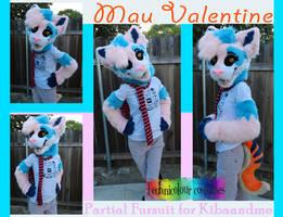 Mau Valentine Partial Suit by TECHNlCOLOUR